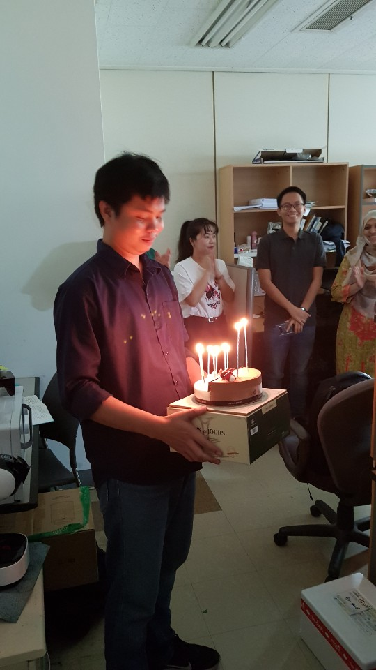 Birthday party(Weerawat) (Aug. 19th 2019)