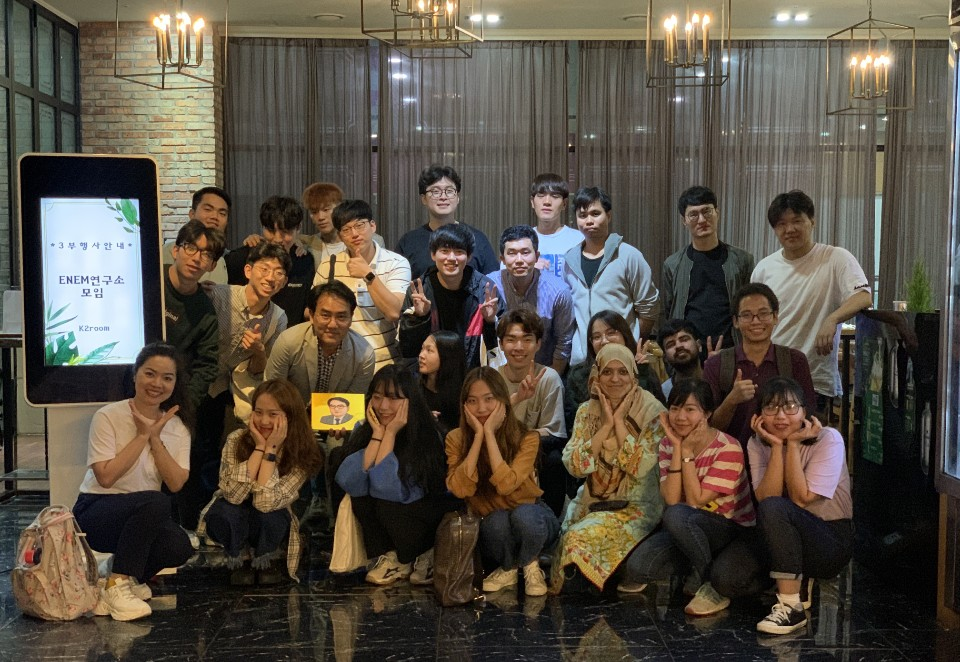 Farewell party(Oil) (Sept. 27th 2019)