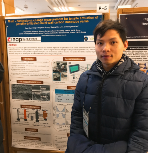 Poster presentation at the Nanotube Conference_Dang